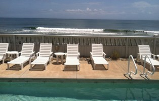 Outer Banks Pools and Spa Oceanfront Pool in Duck, North Carolina