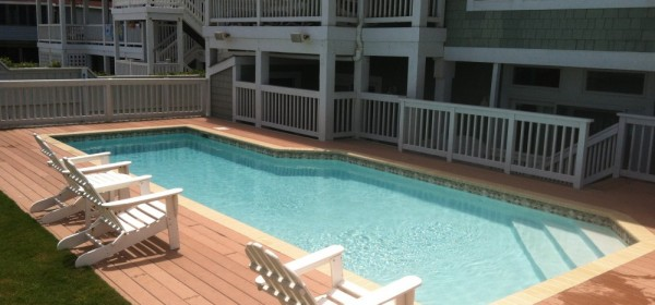 Outer Banks Relax by the pool