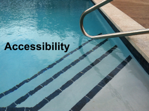 Outer Banks Pools and Spa Accessibility